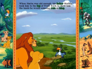 Disney's Animated Storybook: The Lion King 3