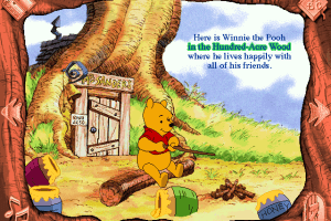 Disney's Animated Storybook: Winnie the Pooh and the Honey Tree 1