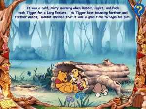 Disney's Animated Storybook: Winnie the Pooh & Tigger Too abandonware