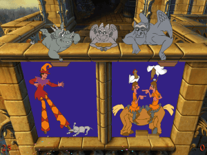 Disney's The Hunchback of Notre Dame: 5 Topsy Turvy Games 5