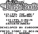 Disney's The Jungle Book 1