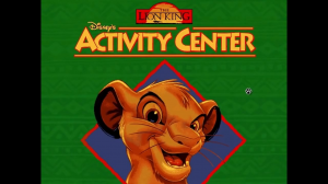 Disney's The Lion King Activity Center 0