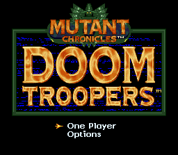 Doom Troopers: Mutant Chronicles 0