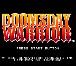 Doomsday Warrior 0