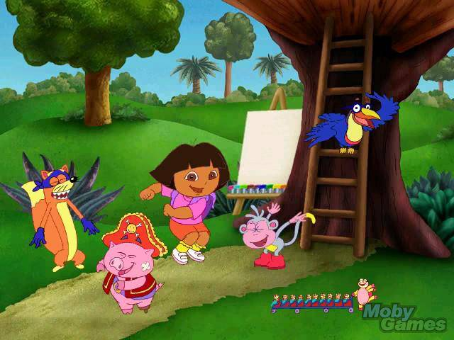 Dora 3d Pyramid Adventure Game