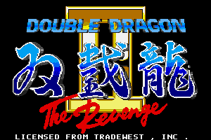 Double Dragon II: The Revenge 0