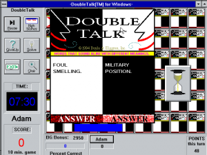 Double Talk: Sports Edition abandonware