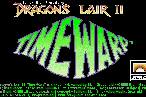 Dragon's Lair II: Time Warp 0