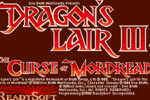 Dragon's Lair III: The Curse of Mordread 0