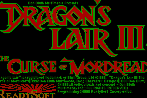 Dragon's Lair III: The Curse of Mordread 2
