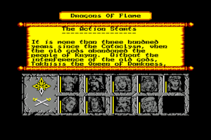 Dragons of Flame abandonware