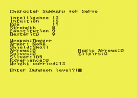 Dunjonquest: Temple of Apshai abandonware