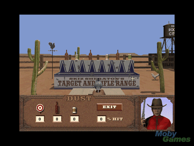 Dust: A Tale Of The Wired West [1995 Video Game]