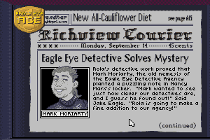 Eagle Eye Mysteries 12