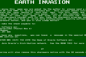 Earth Invasion 0
