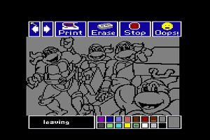 Electric Crayon Deluxe: Teenage Mutant Ninja Turtles: World Tour 1