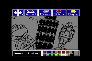 Electric Crayon Deluxe: Teenage Mutant Ninja Turtles: World Tour 2