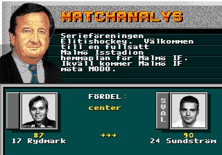 Elitserien 1993 10 12