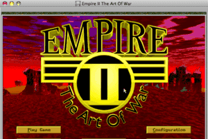 Empire II: The Art of War 1