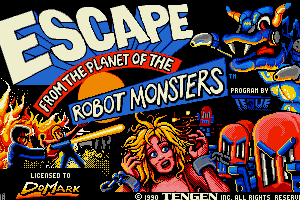 Escape from the Planet of the Robot Monsters 0