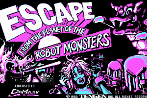 Escape from the Planet of the Robot Monsters 6