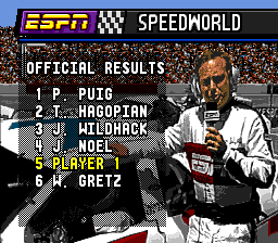 ESPN Speed World 13