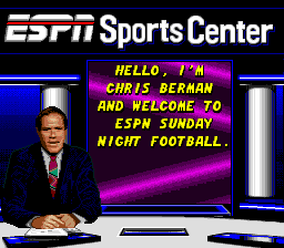 ESPN Sunday Night NFL 6