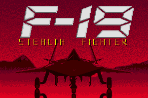 F-19 Stealth Fighter abandonware