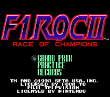 F1-ROC II: Race of Champions 1
