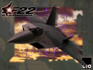 F22 Air Dominance Fighter 2