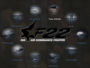F22 Air Dominance Fighter abandonware