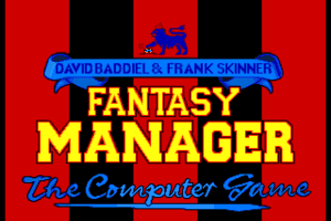 Fantasy Manager: The Computer Game 0