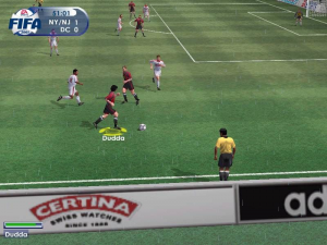 FIFA 2001: Major League Soccer 10