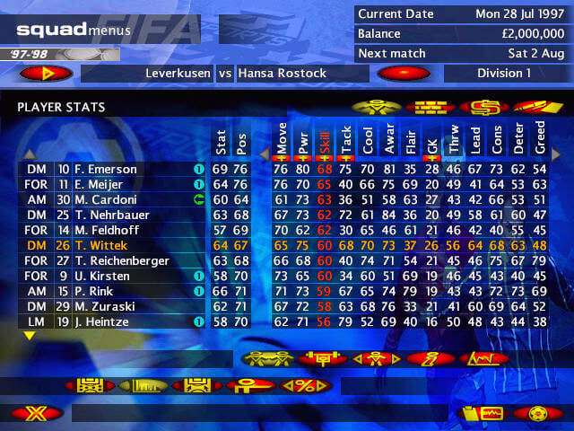 Ultimate soccer manager 2 tips on saving