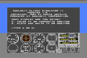 Flight Simulator II 0