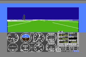 Flight Simulator II 1