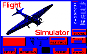 Flight Simulator with Torpedo Attack abandonware
