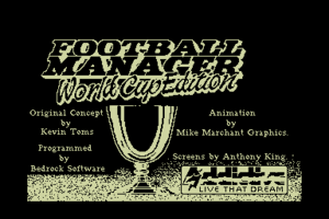 Football Manager: World Cup Edition 1990 0