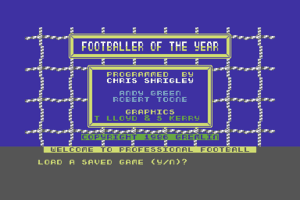 Footballer of the Year 1