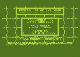 Footballer of the Year 0