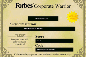 Forbes Corporate Warrior 14