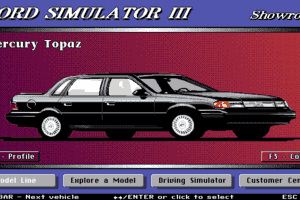 Ford Simulator III 0