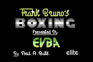 Frank Bruno's Boxing 1