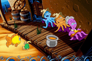 Freddi Fish 4: The Case of the Hogfish Rustlers of Briny Gulch 6