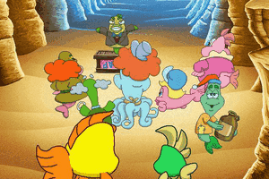 Freddi Fish 5: The Case of the Creature of Coral Cove 6