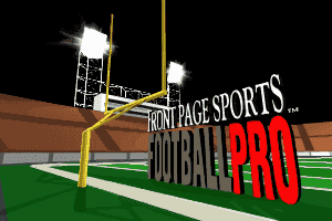 Front Page Sports: Football Pro 2
