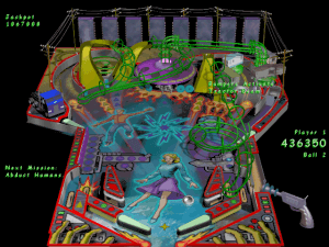 Microsoft 3D Pinball: Space Cadet   ClassicReload.com
