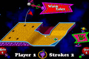 Fuzzy's World of Miniature Space Golf 9