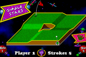 Fuzzy's World of Miniature Space Golf 2