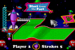 Fuzzy's World of Miniature Space Golf 4